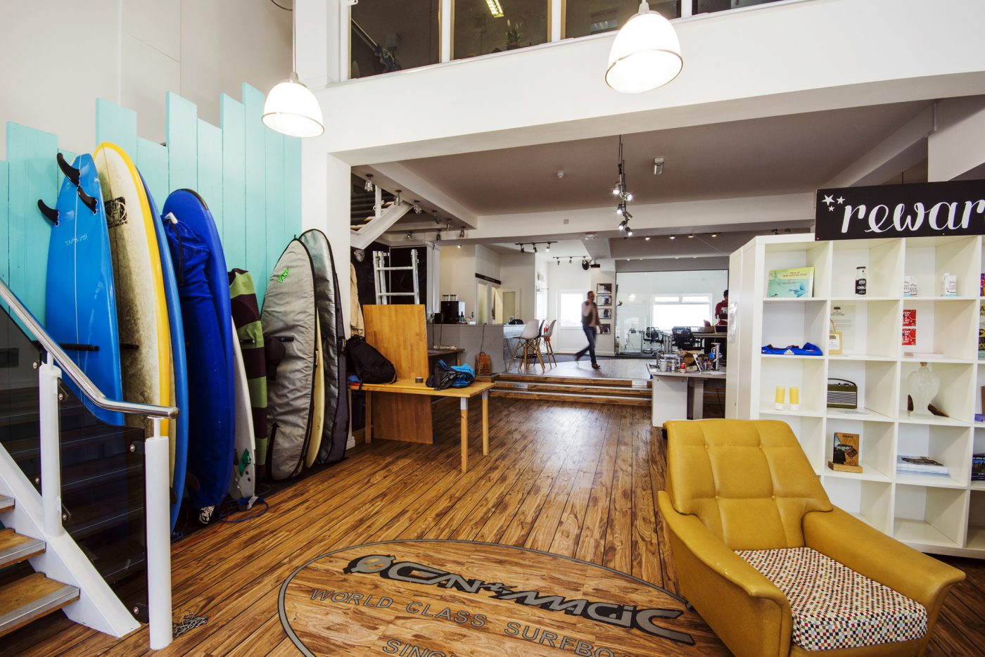 Newquay office surf cornwall crowdfunder