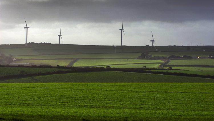 Wind Turbines at Quintrell Downs
