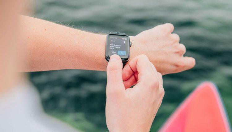 Paddlelogger Apple Watch