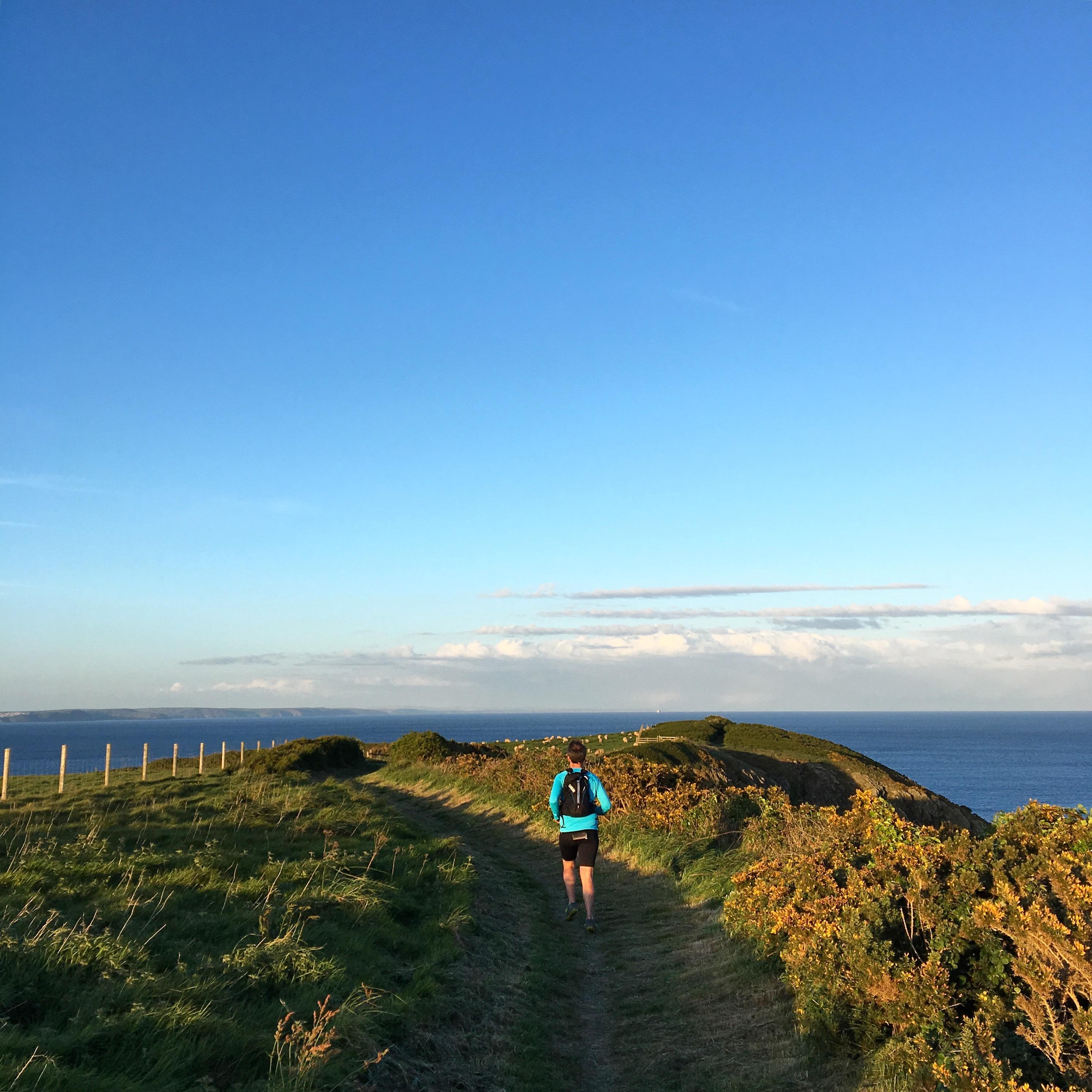 Coast path run