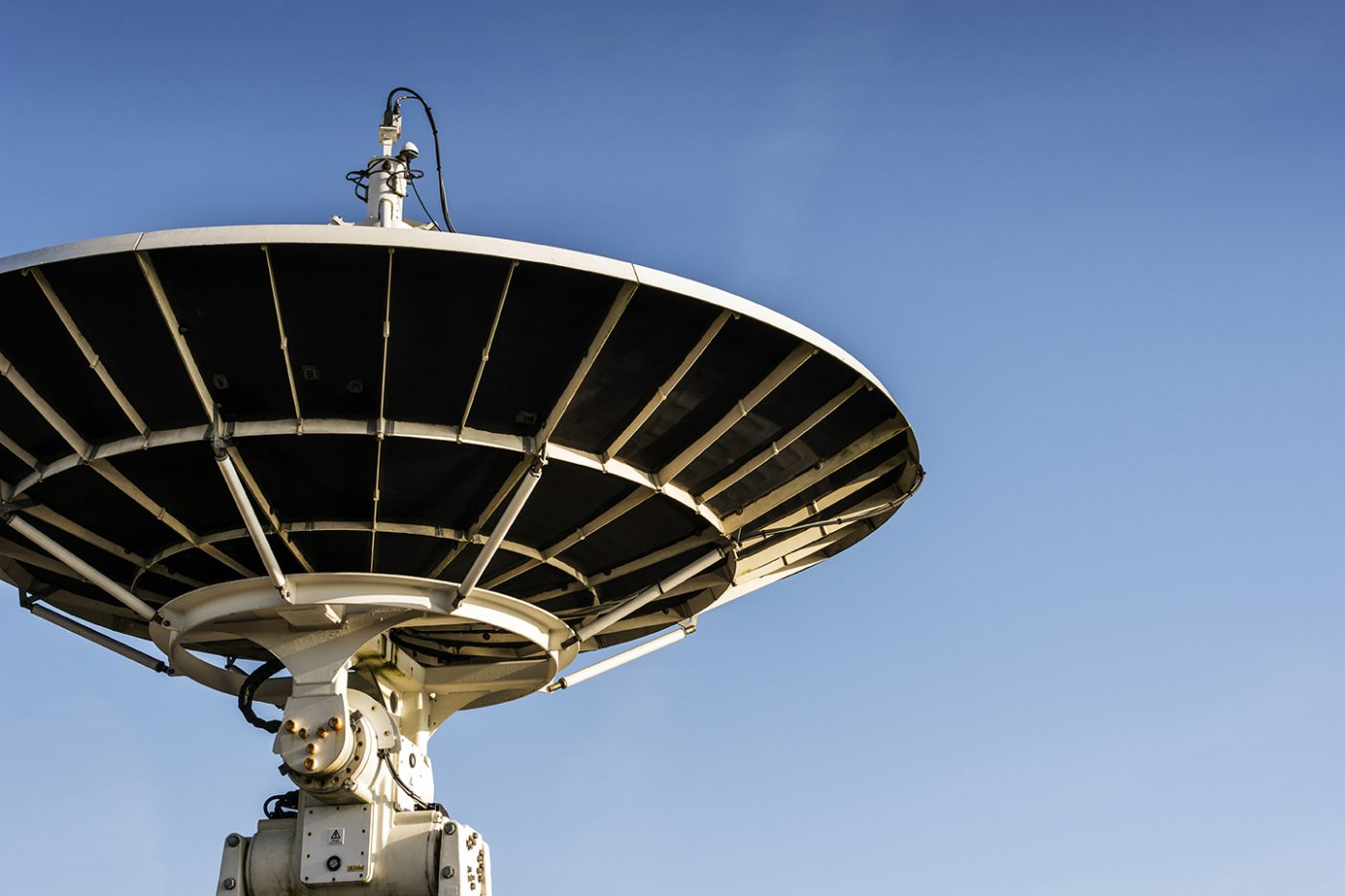 Satellite Dish at Goonhilly space station in Cornwall.