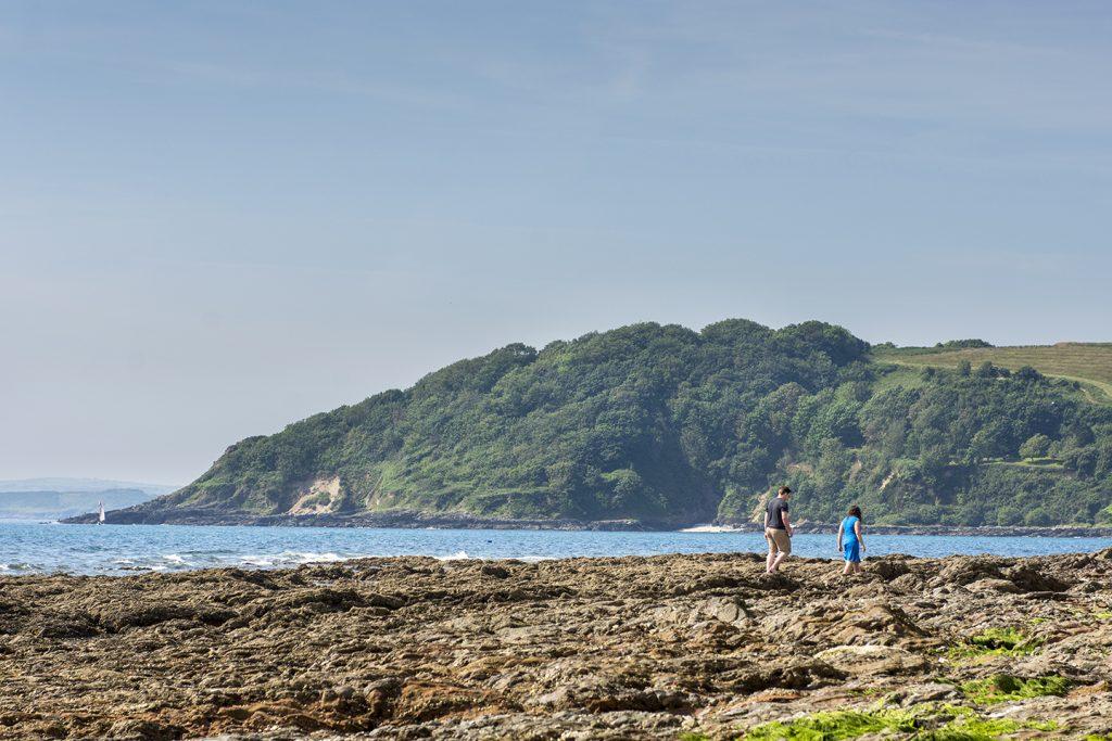 Falmouth beach walk
