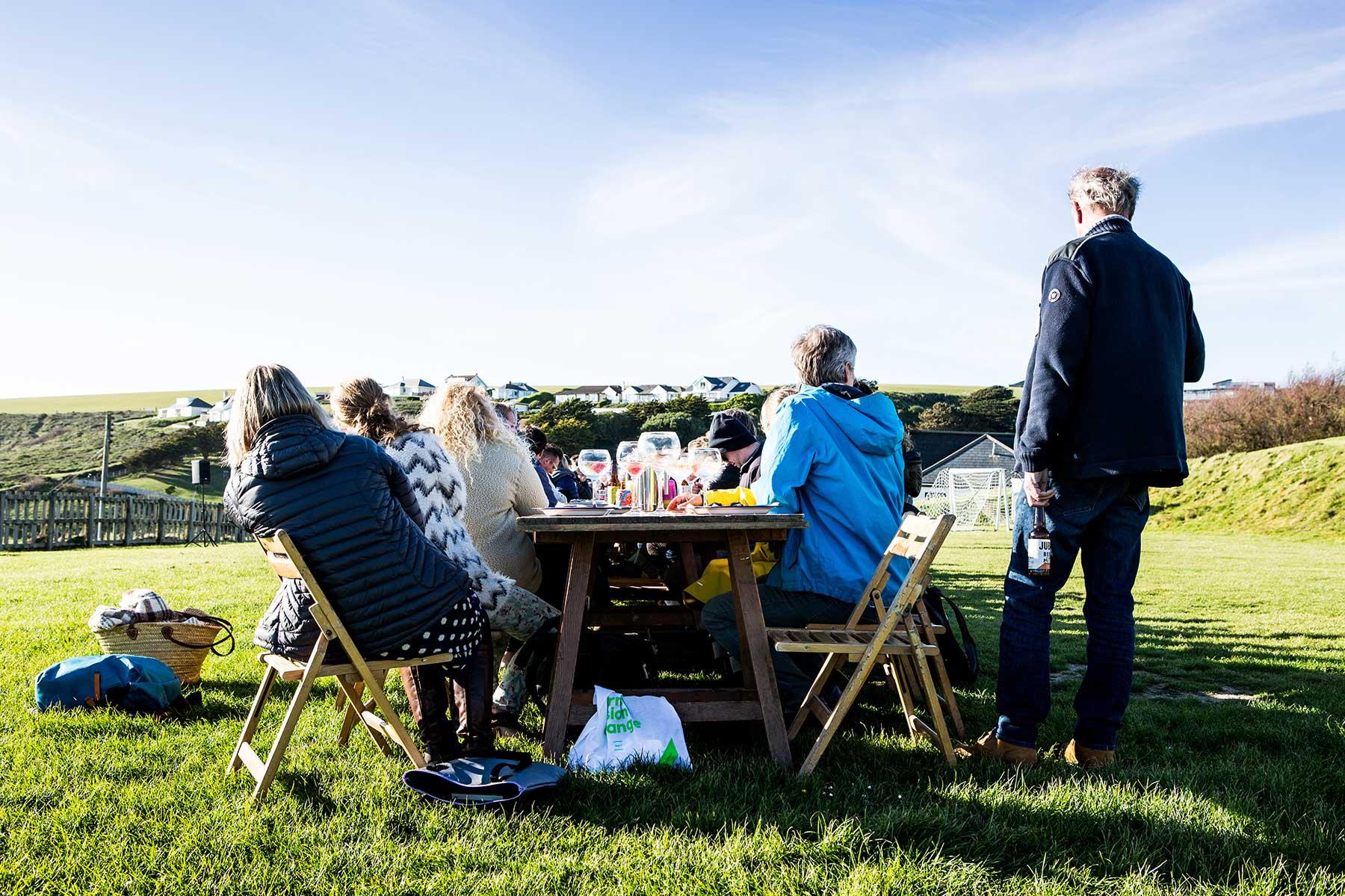 Goodfest feast table
