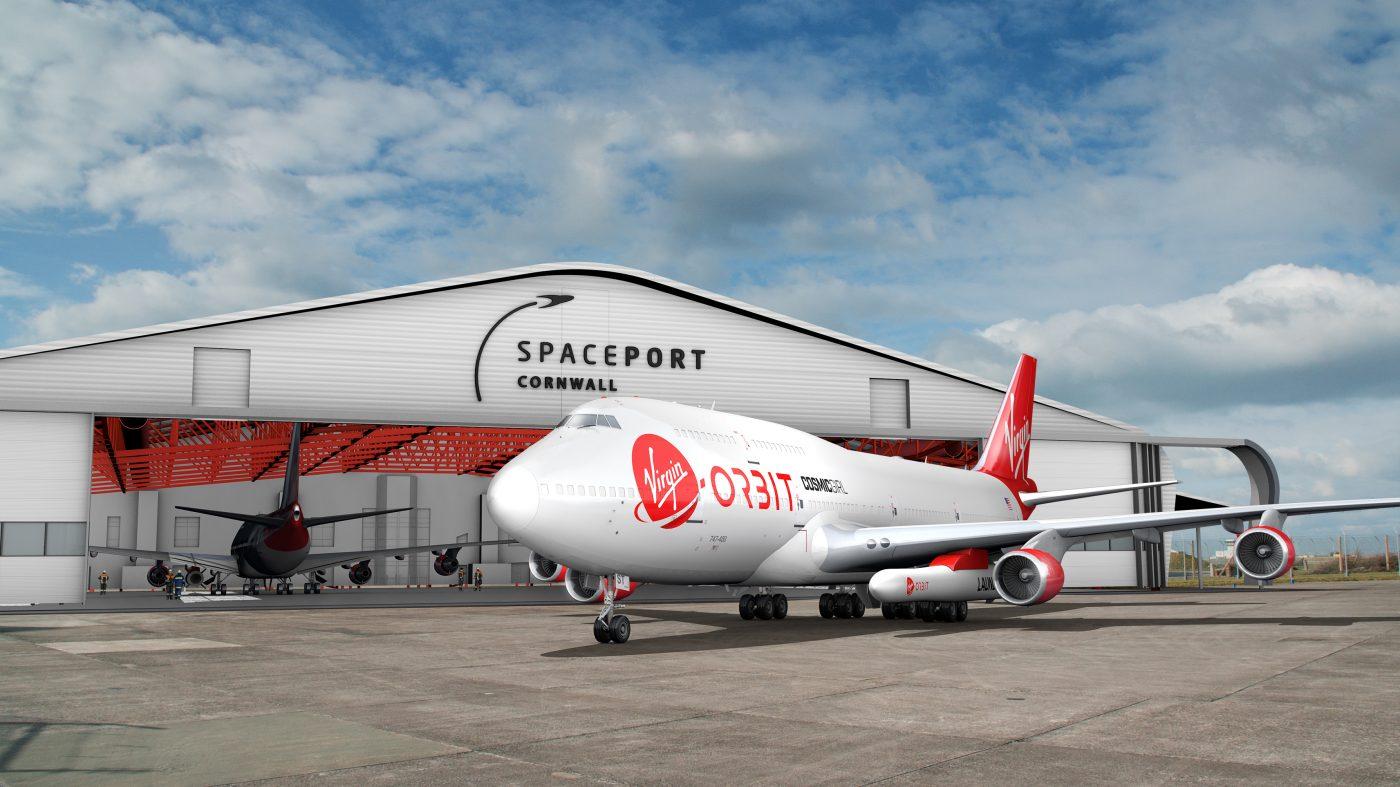 spaceport hangar