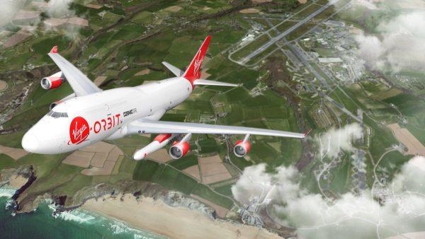 Virgin Orbit Spaceport Takeoff