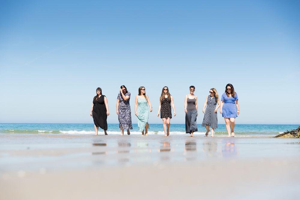Mutu team on beach