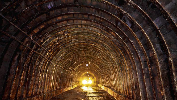 South Crofty Mine Tunnel