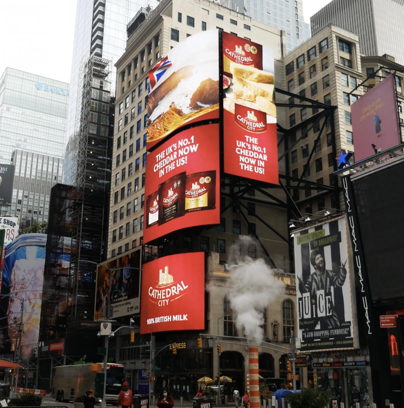 Cheddar Advert