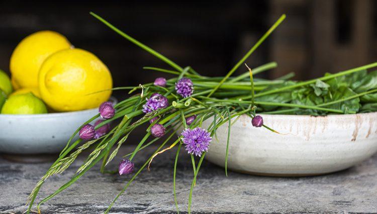 Fresh Lemon and Herbs