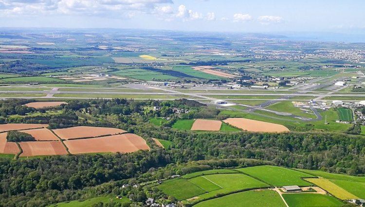 Cornwall Airport Newquay Runway