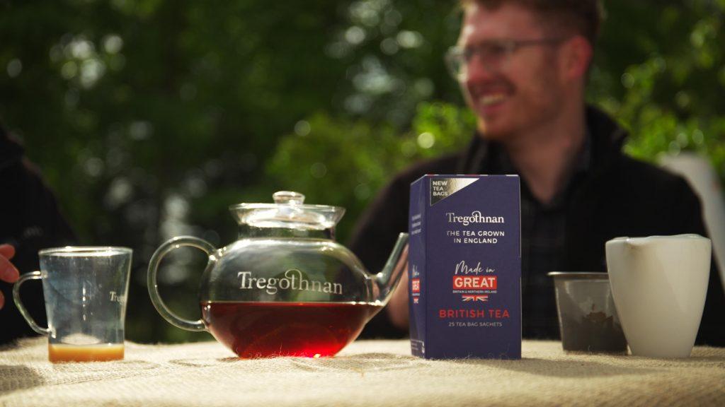 Tregnothan tea in a tea pot