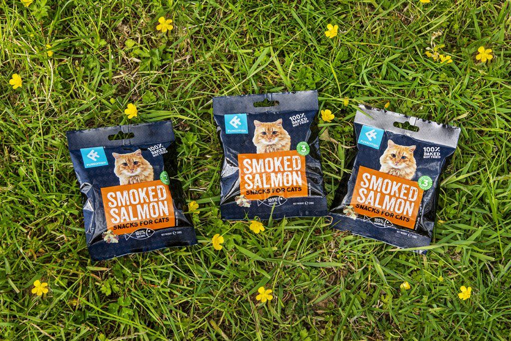 smoked salmon offcut pet treats