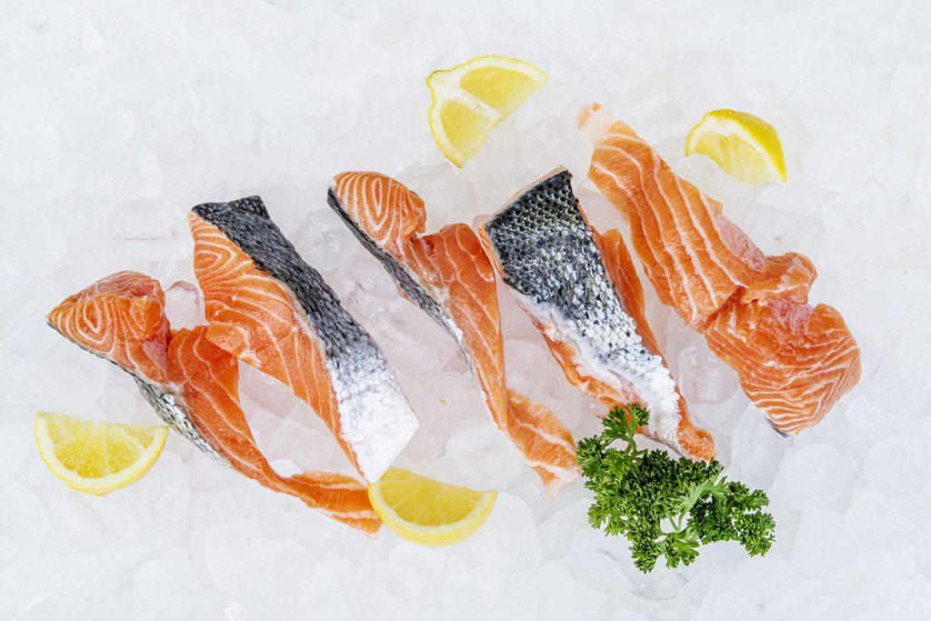 salmon offcuts